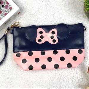 Handbags - Minni Mouse Inspired Wristlet